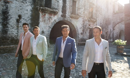 Il Divo: Amor & Pasión on September 27 at 8 p.m.