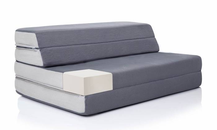 Swell Up To 23 Off On Lucid 4 Folding Sofa Bed Groupon Goods Machost Co Dining Chair Design Ideas Machostcouk