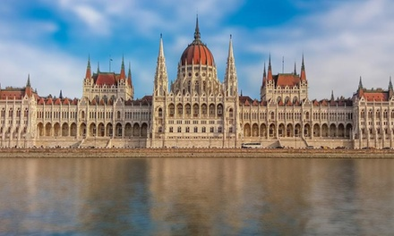 ✈ Budapest: 24 Nights Stay in a 4* Hotel with Flights and Optional Spa Entry