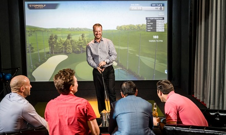 One-Hour Swing Suite Rental for Up to 12 People at Blackthorn Topgolf Swing Suite (Up to 52% Off)