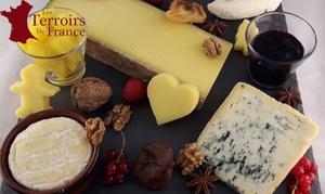 Les Terroirs De France: Plateau de 4, 7 ou 10 fromages mixte, à récupérer, dès 24,90 € chez Les Terroirs De France