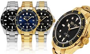 SO & CO New York Men's Bracelet Yacht Club Watches at SO & CO New York Men's Bracelet Yacht Club Watches, plus 6.0% Cash Back from Ebates.
