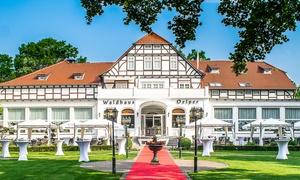 Waldhaus Oelper: 4-Gänge-Gourmet-Menü mit Fisch oder Fleisch zur Wahl für 2 oder 4 Personen bei Waldhaus Oelper (bis 33% sparen*)