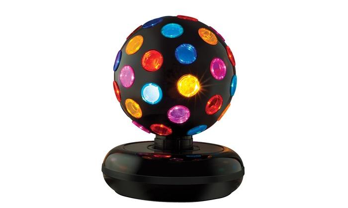 360-Degree Rotating Disco Ball
