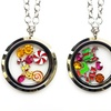 Holiday Lockets in Stainless Steel by Pink Box