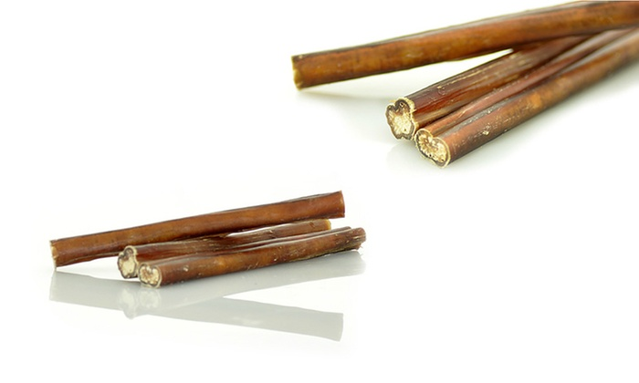 5 bully sticks for dogs 30 pack groupon. Black Bedroom Furniture Sets. Home Design Ideas
