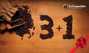 LaCompatibile, capsule caffé: 100 capsule caffè in omaggio a scelta compatibili con Nespresso, Dolce Gusto, Lavazza da LaCompatibile