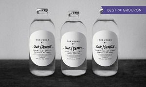 Our Vodka: Destillenführung mit Verkostung und 350 ml Flasche Wodka für 1, 2 oder 4 Personen bei Our Vodka (bis zu 51% sparen*)