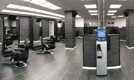 Cut with Optional Beard Trim and Shape or Hot Towel Shave and Facial at Acute Barbers, Three Locations