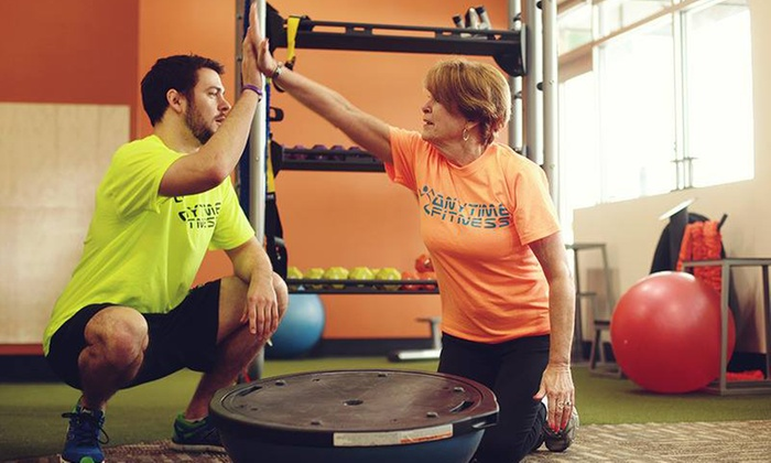 One-Month Membership at Anytime Fitness (Up to 86% Off). Six Options Available.