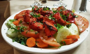 Butter Chicken Indian Cuisine: Indian Food for Two or Four at Butter Chicken Indian Cuisine (Up to 43% Off)