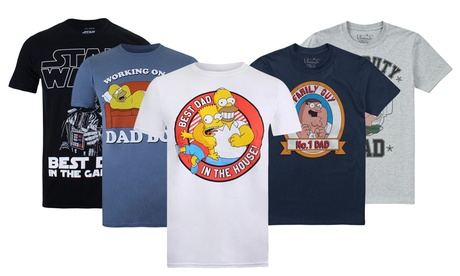 Men's Novelty Father T-Shirts