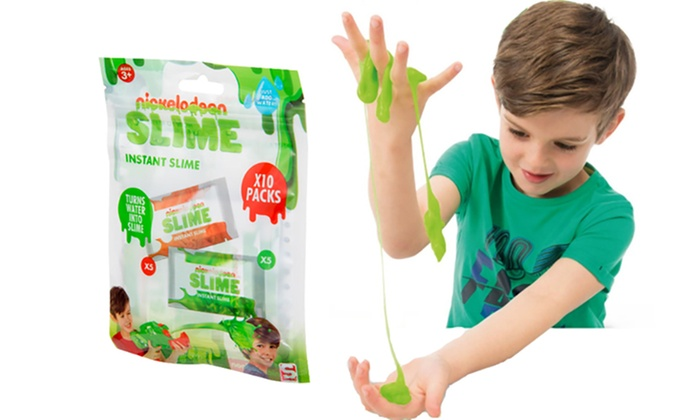 One or Two Ten-Packs of Sambro Nickelodeon Instant Slime Powder for £4.99