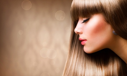 Haircut and Coloring Packages at Hairazors Salon (53% Off). Three Options Available.