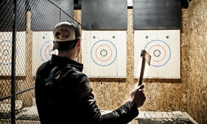 Up to 50% Off Axe Throwing Sessions at Jack Axe Pdx at Jack Axe Pdx, plus 6.0% Cash Back from Ebates.
