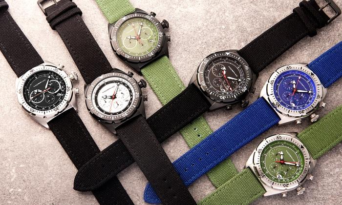 64c2fe979 Up To 91% Off Morphic M53 Series Watch | Groupon