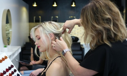 Style Cut Package $39 with Regrowth Colour $89 or Half Head of Foils $99 at Milano Hair Studio Up to $398 Value