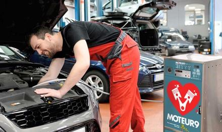 Rajeunissement et décalaminage du moteur à 34,90 € au Garage Salva