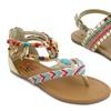 Olivia Miller Kids' Beaded Sandals