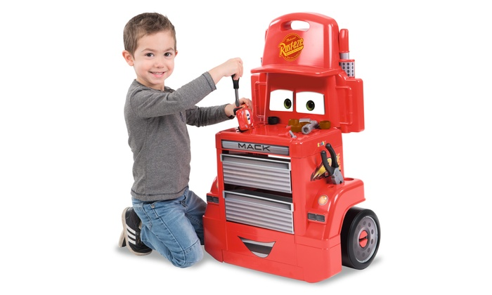 Smoby Cars 3 Mack Truck Trolley