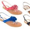Women's Strappy Flat Sandal