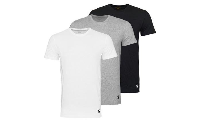 timeless design e84c7 ef6b2 Ralph Lauren 3-Pack of T-Shirts   Groupon