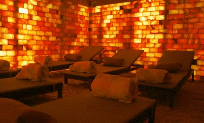 Salt Cave Halotherapy - One ($29) or Two ($57) Sessions at Salt Cave Halotherapy Wellness Centre (Up to $120 Value)