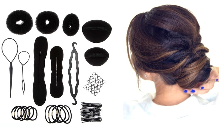 hair styling accessories kit groupon
