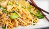 Nodus Noodles & Rice bad phone - Sunnyside: $15 for $30 Worth of Thai Fare and Two Glasses of Champagne at Nodus Thai Noodles and Rice in Sunnyside ($44 Value)