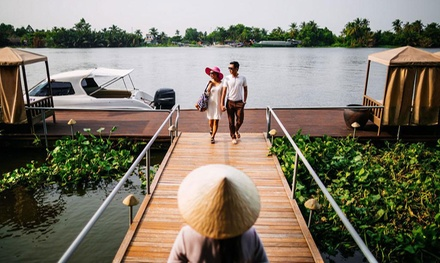 Ho Chi Minh City, Vietnam: Up to 4N 5* Getaway with Breakfast, Fruit Basket and Transfer, 5* An Lam Retreat Saigon River