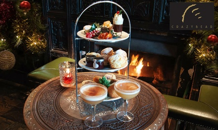 Festive Afternoon Tea at The Crazy Bear £24.95