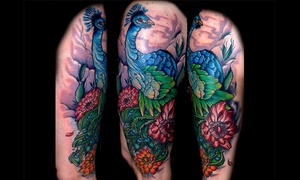 Ascension Body Modification: $75 for One Hour of Tattooing Services at Ascension Body Modification ($125 Value)