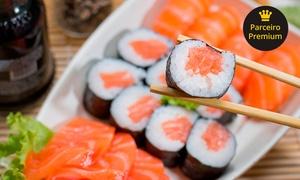 China Wok: Buffet livre de comida japonesa e chinesa para 1, 2 ou 4 pessoas no China Wok – Rebouças