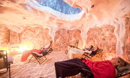 One, Three, or Five 45-Minute <strong>Salt</strong> Cave Sessions from Montauk <strong>Salt</strong> Cave (Up to 62% Off)