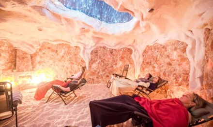 One, Three, or Five 45-Minute Salt Cave Sessions from Montauk Salt Cave (Up to 62% Off)