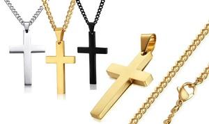 Collier pendentif croix