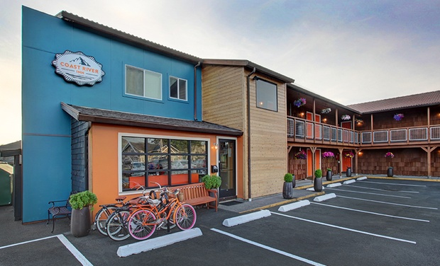 TripAlertz wants you to check out Stay at Coast River Inn in Seaside, OR, with Dates into June Inn on Oregon Coast - Coastal Oregon Inn