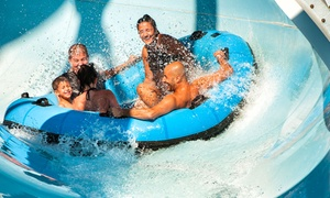 50% Off a Water-Park Visit at Splash Zone, plus 6.0% Cash Back from Ebates.