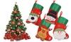Christmas Mini Stocking Cutlery Holder