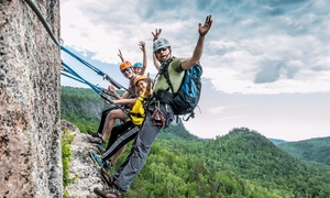 Aventurex: Via Ferrata Excursion in Charlevoix for One, Two or Four with Aventurex (Up to 60% Off)