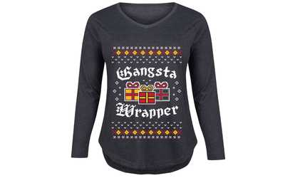 0ca04d5c Shop Groupon Women's Ugly Christmas Graphic T-Shirt. Plus Sizes Available.