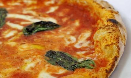 2 o 4 pizze alla pizzeria Bella Napoli