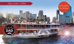 Kookaburra Showboat Cruises: From $26 for a Weekday River Sights Lunch Cruise with Kookaburra Showboat Cruises, CBD (From $29 Value)