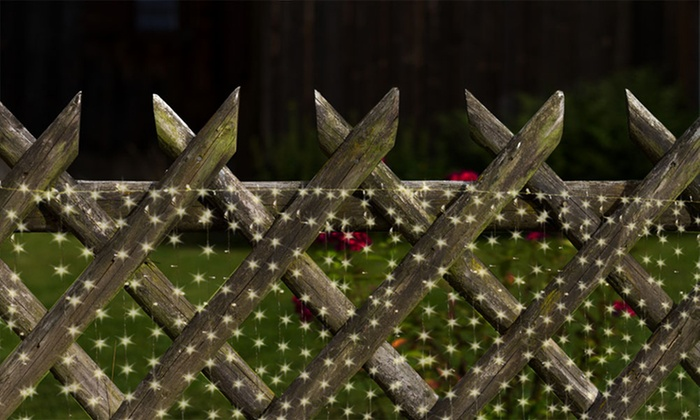10ft 300 Led Warm White String Curtain Light Groupon