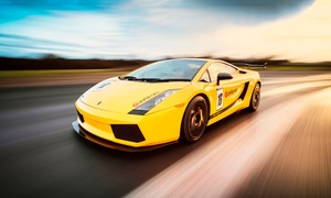 Drift Limits: 14-Lap Lamborghini Gallardo Driving Experience for One or Two with Drift Limits (Up to 51% Off)