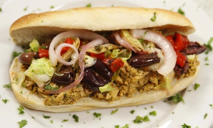Custom Sandwiches or Plates for Two or Catered Party Tray for 10 or 20 from Poccadio (Up to 51% Off)