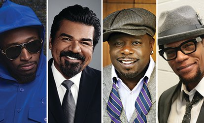image for The Comedy Get Down w/ Cedric the Entertainer, Eddie Griffin, D.L. Hughley & George Lopez on Friday, June 22, at 8 p.m.