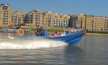 image for Jet Boat Thames Tour for Two at Thamesjet (24% Off)