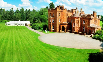 Dumfriesshire: Choice of Double Rooms for Two with Breakfast, 2Course Dinner with Wine and Gift at Friars Carse Hotel