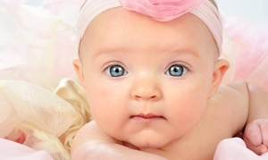 Studio One to One : $22 for a Kids' Portrait Package with Eight Photo Sheets at Studio One to One ($469.40 Value)